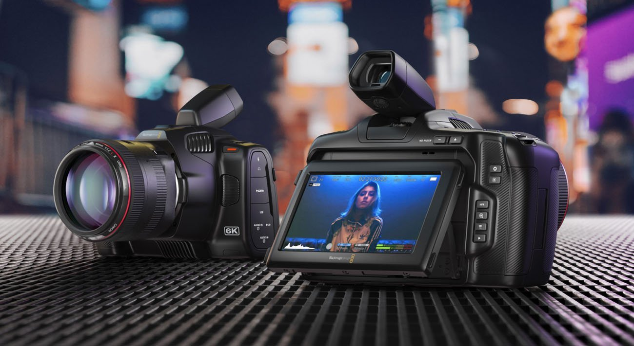 Blackmagic améliore sa Pocket Cinema Camera 6K et la décline en version Pro