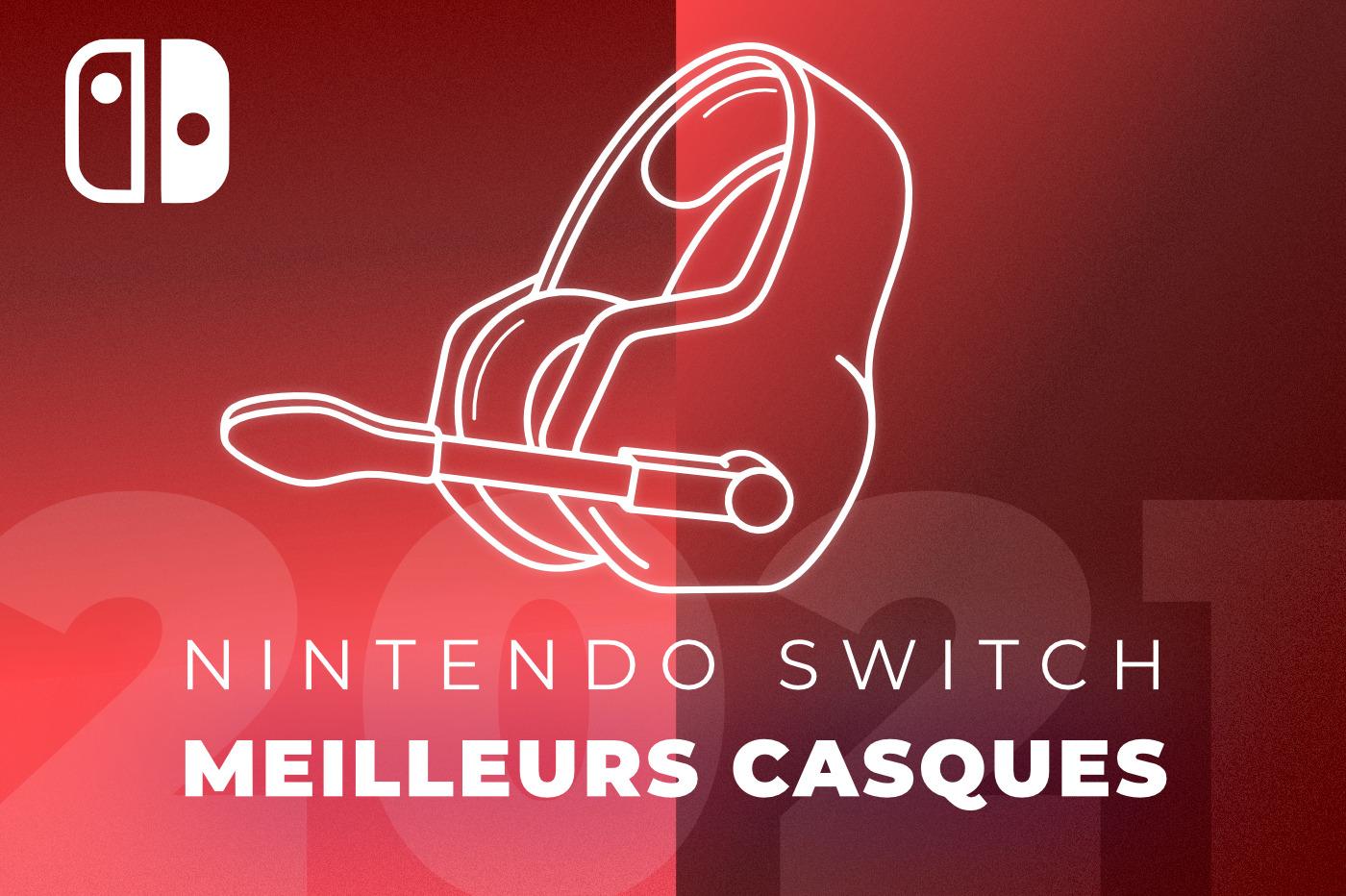 Quels sont les meilleurs casques Nintendo Switch en 2021 ?