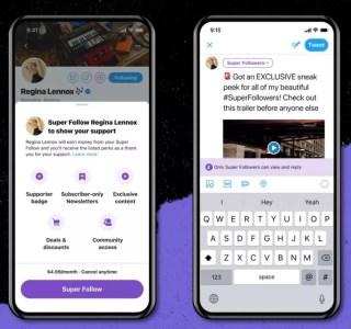 Twitter présente deux grandes nouveautés: rémunérer des créateurs et créer des communautés