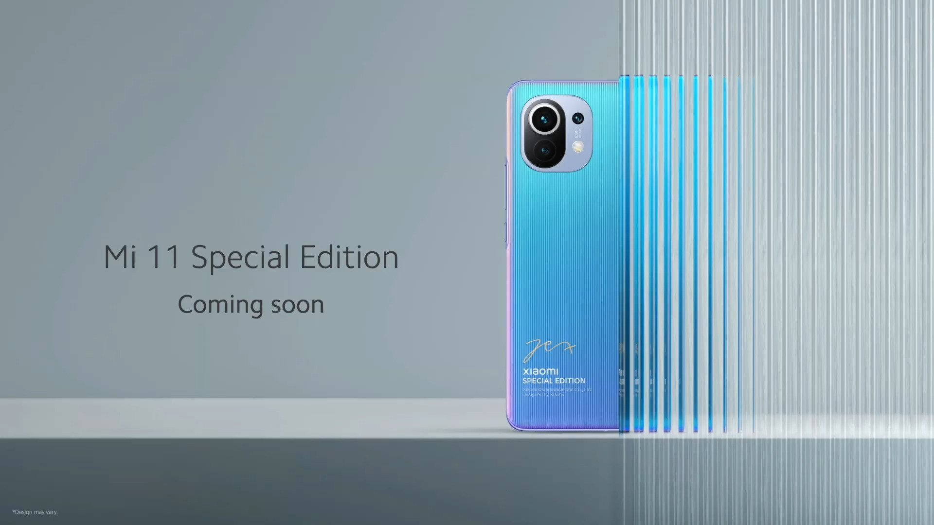 Xiaomi Mi11: un modèle «Special Edition» sera bientôt dévoilé