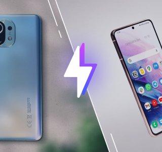 Xiaomi Mi11 vs Samsung GalaxyS21: lequel est le meilleur smartphone?