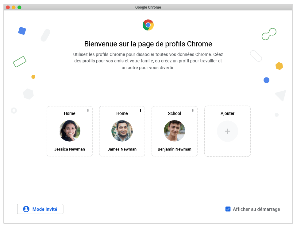 Google Chrome offre un meilleur cloisonnement des sessions utilisateur