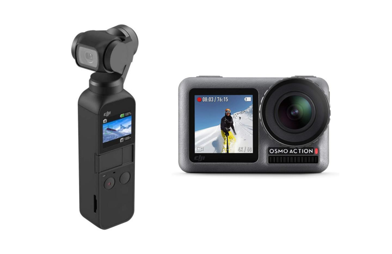 DJI Osmo Action et Pocket : deux excellentes caméras à presque moitié prix