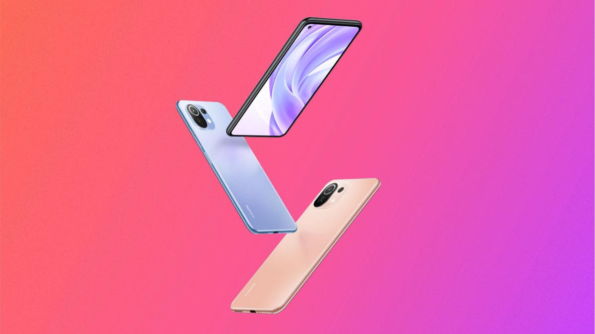 Xiaomi Mi 11 Lite (4G et 5G) officialisé : la légèreté à prix doux