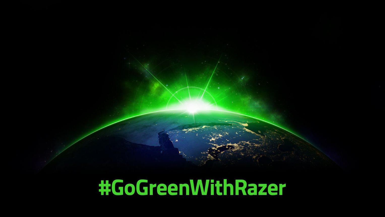 Razer se met au vert et promet des produits plus écologiques