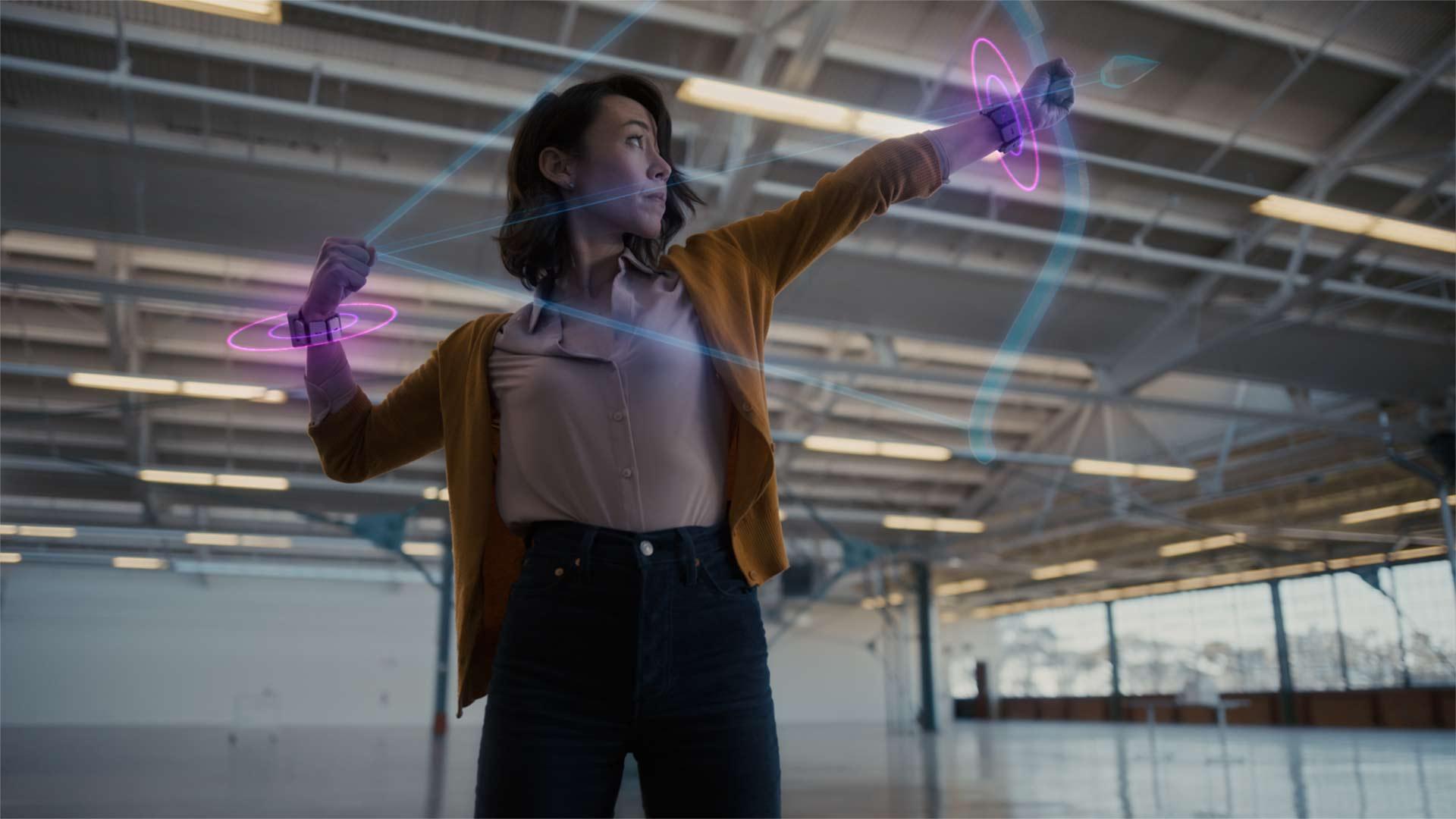 Réalité augmentée : comment Facebook veut mettre votre poignet au centre de tout