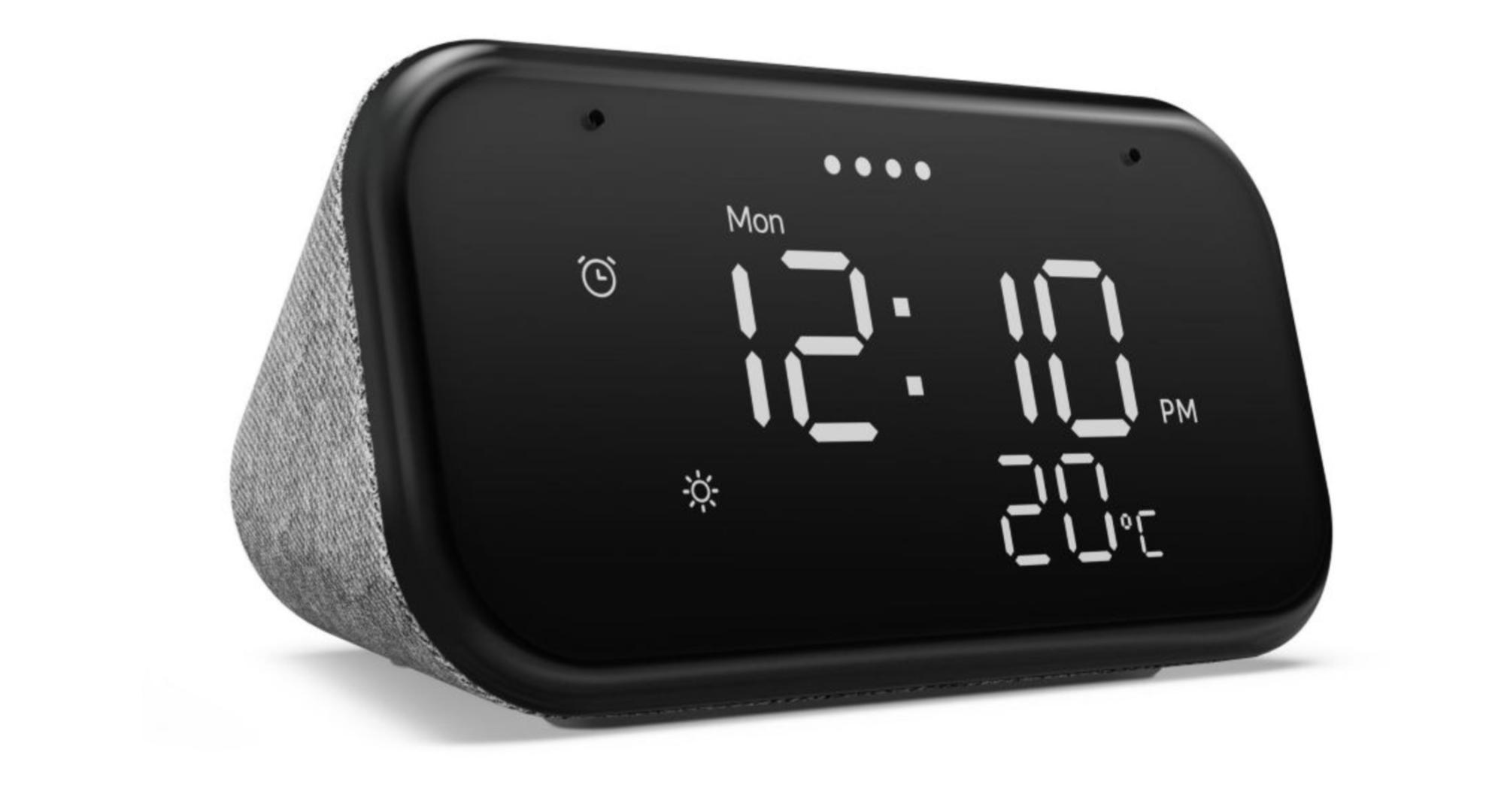 Le réveil intelligent Lenovo Smart Clock Essential est à -40 %
