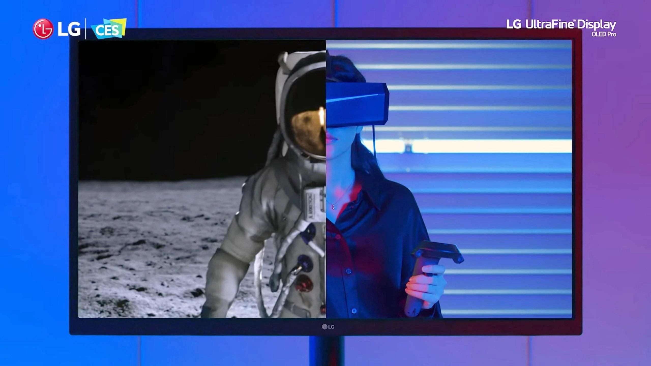 LG UltraFine OLED Pro : quatre nouveaux moniteurs, toujours à 60 Hz et toujours très chers