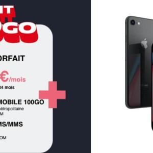 Et si vous ne payiez que 12,99 €/mois pour un forfait 100 Go et un iPhone offert ?