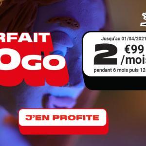 Voici pourquoi ce forfait mobile 30 Go à moins de 3 euros est intéressant