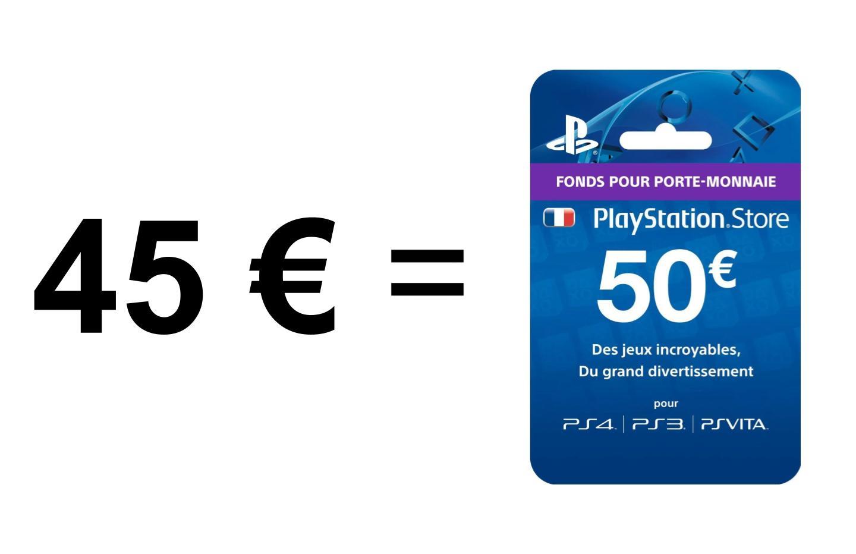 Payer moins pour dépenser plus sur le store PS5/PS4, comment faire ?