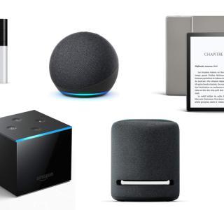 Echo, Kindle et Fire TV : tous les produits Amazon aux prix les plus bas