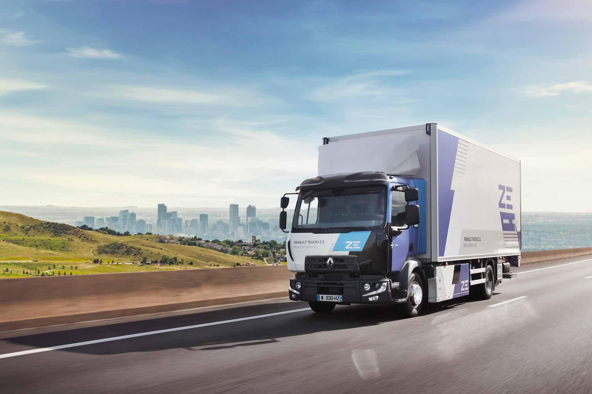 Renault Trucks proposera dès 2023 une offre de camions électriques