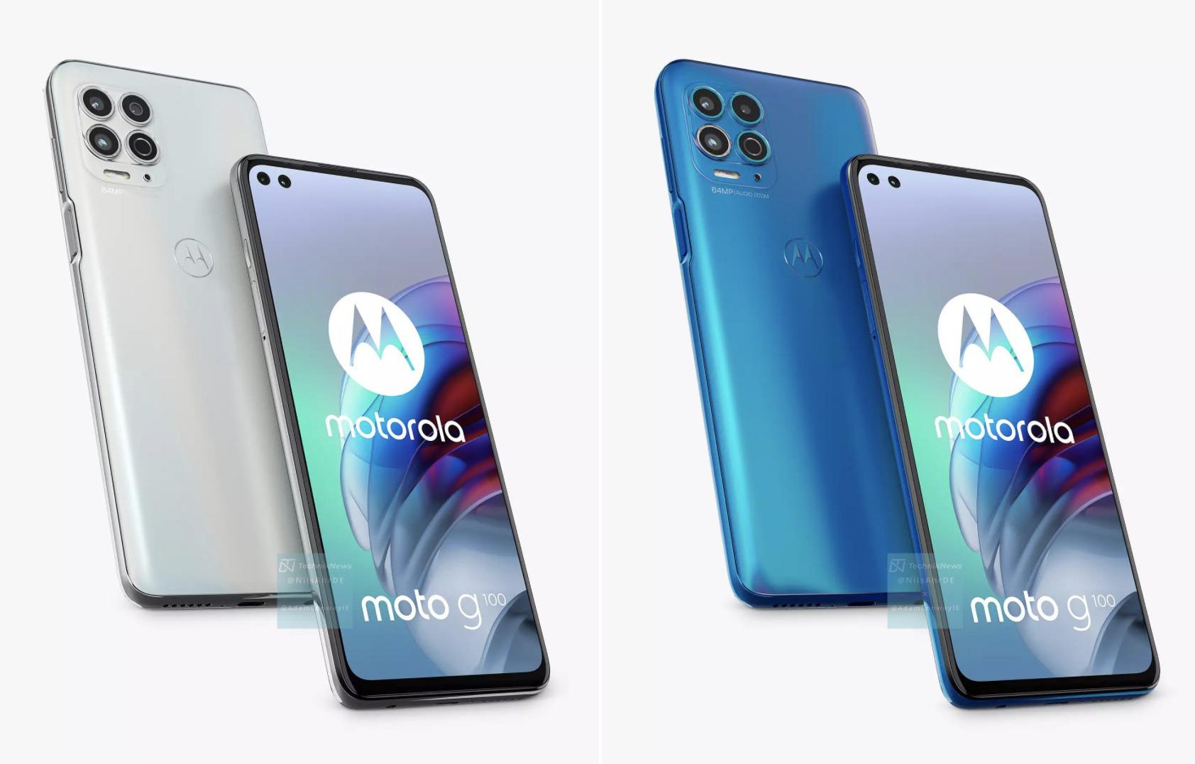 Le Motorola Moto G100, variante européenne du Edge S, se dévoile en images avant l'heure