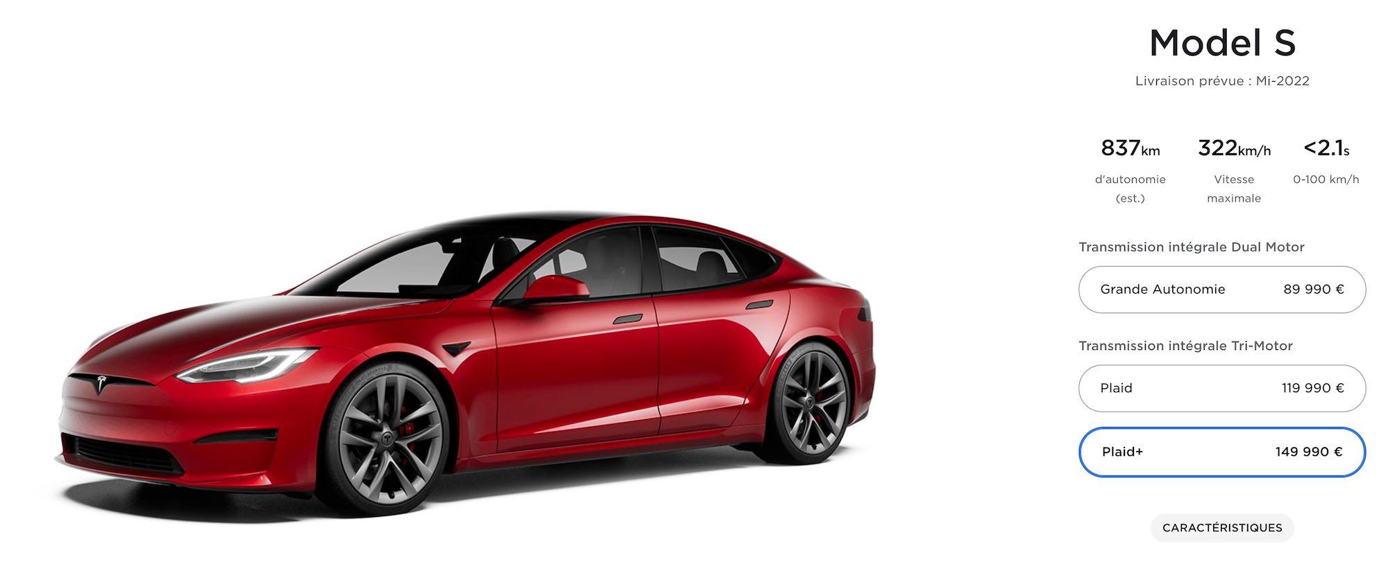 Déjà du retard pour la Tesla Model S Plaid+