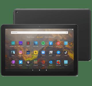 La tablette Fire HD 10 (2021) bénéficie d'une timide nouvelle version