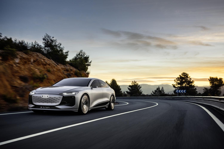 Audi A6 e-tron: ce séduisant concept de berline électrique vise 700km d'autonomie