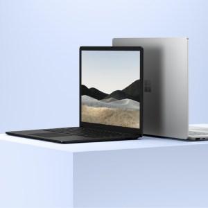 Microsoft dévoile un Surface Laptop 4 plus performant