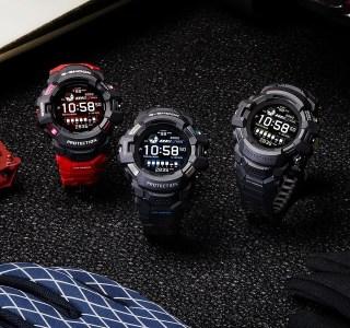 Casio G-ShockGSW-H1000: la G-Squad en mode connecté avec Wear OS