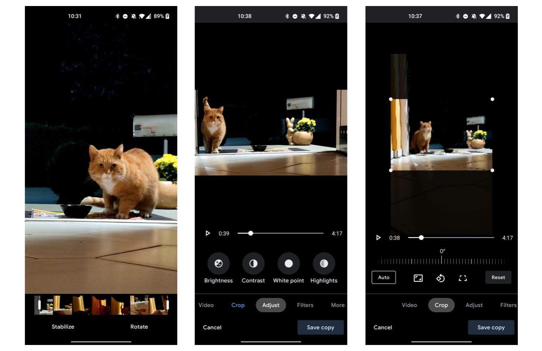 Google Photos : enfin un éditeur de vidéos bien plus puissant