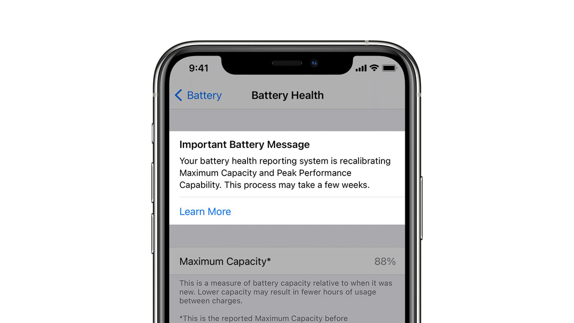 Avec iOS 14.5, Apple veut faire du bien à la batterie de votre iPhone