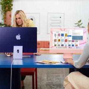 iMac M1 : Apple dévoile son PC tout-en-un tout en finesse au nouveau design