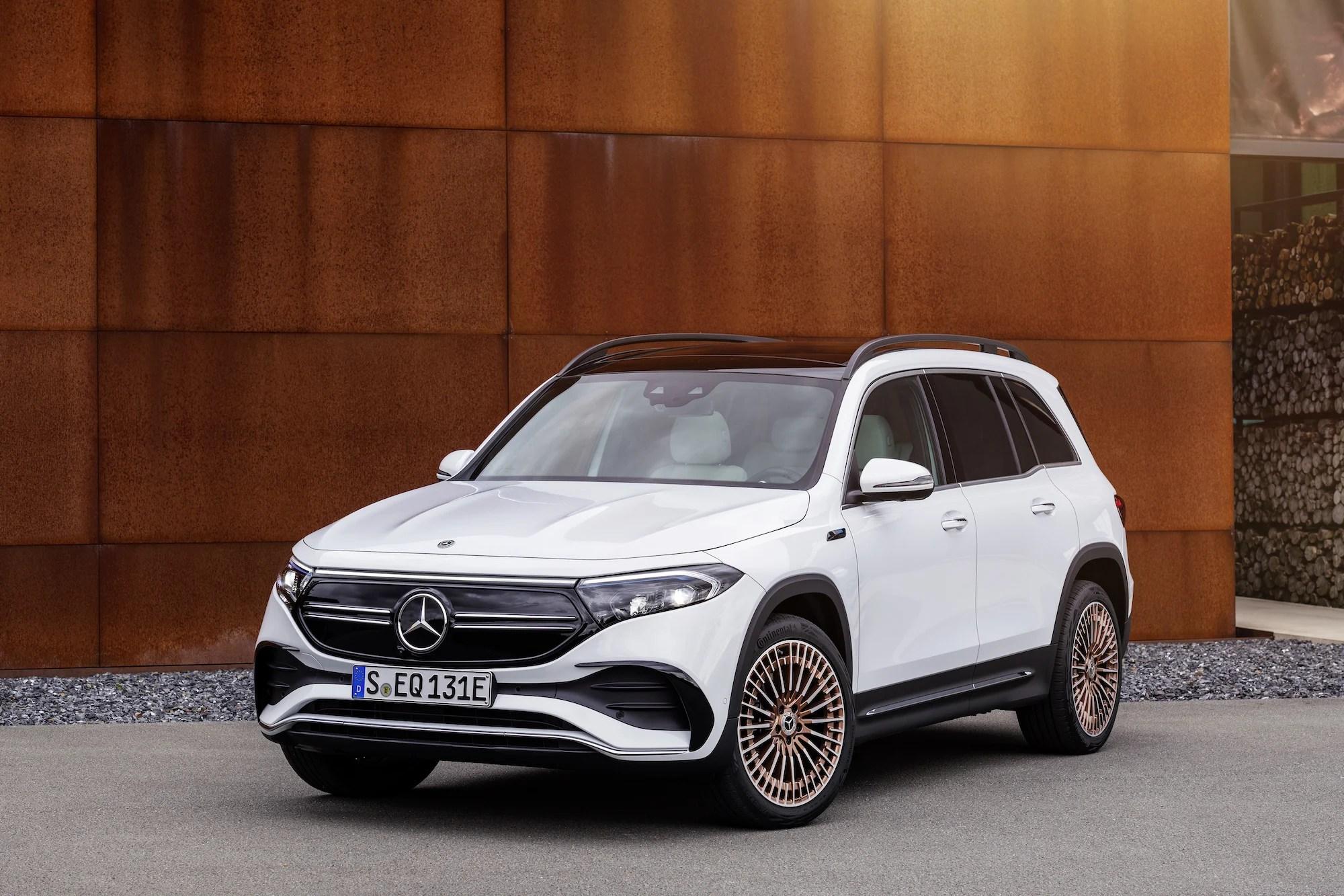 Mercedes EQB: ce SUV électrique de 7places arrivera d'ici fin2021