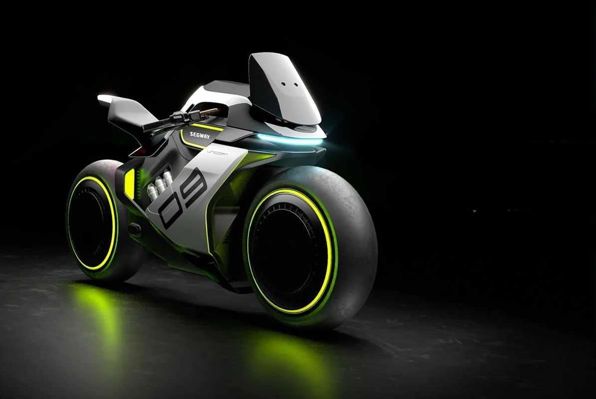 Ninebot Segway ApexH2: tout dans cette moto est futuriste