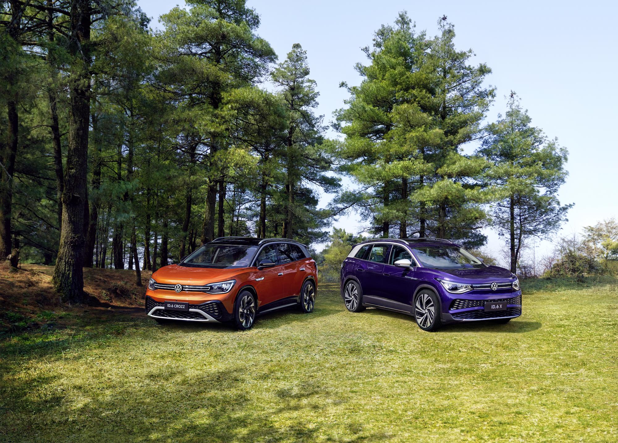 Volkswagen dévoile l'ID.6: un SUV électrique adressé aux familles