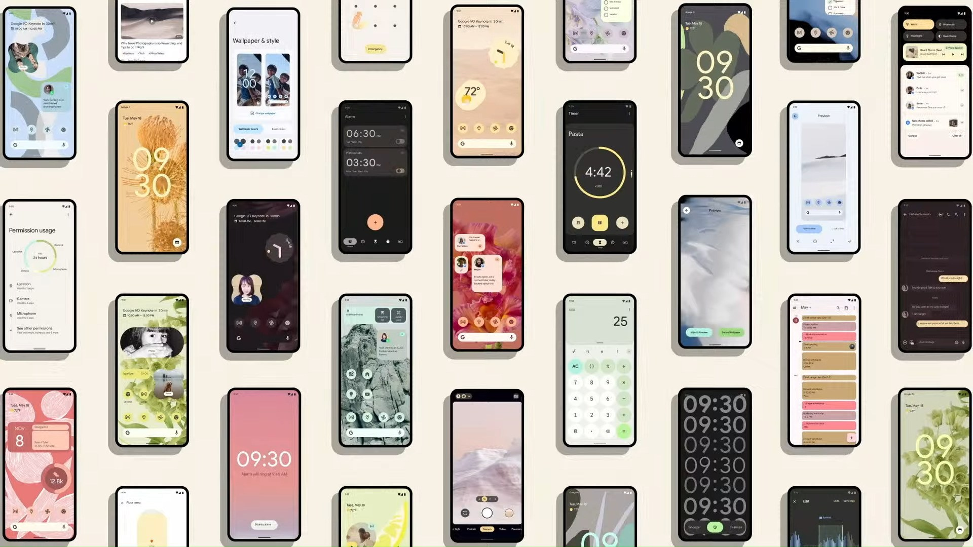 Google I/O 2021 : bêta d'Android 12, refonte de Wear OS… Le récap des grosses annonces