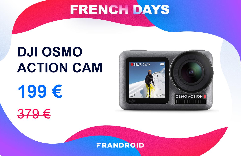 DJI Osmo Action : la concurrente de GoPro est plus abordable pour les French Days