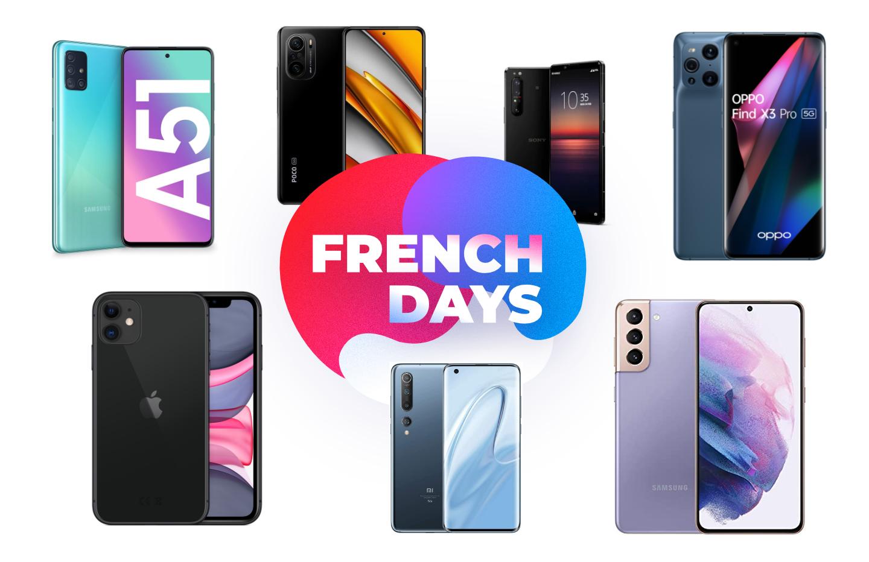 French Days : quels sont les meilleurs smartphones en promotion ?