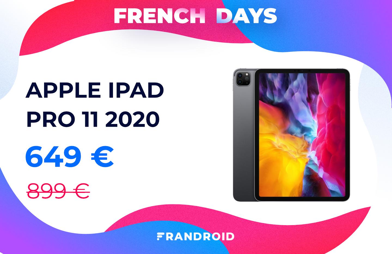 iPad Pro 11 2020 : la tablette d'Apple n'a jamais été aussi peu chère