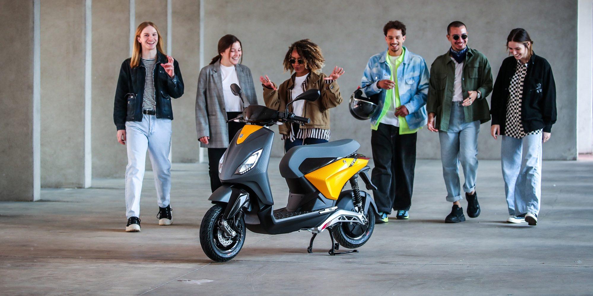 Piaggio One électrique : le plein de technologies pour séduire les jeunes