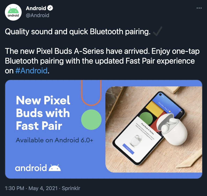 Google officialise par mégarde l'arrivée des Pixel Buds A-Series