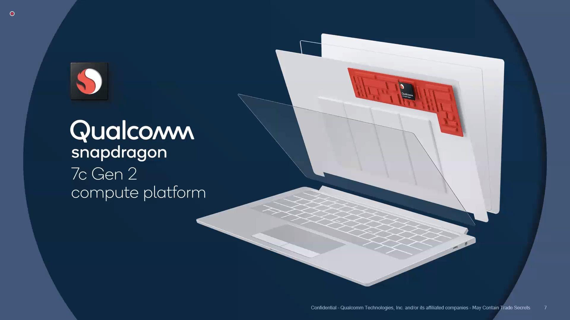 Snapdragon 7c : Qualcomm veut améliorer les PC et Chromebook pas chers