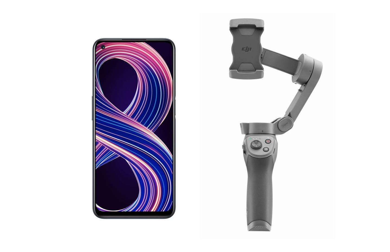 Le nouveau Realme 8 5G est lancé à 259 € avec le DJI Osmo Mobile 3 offert !