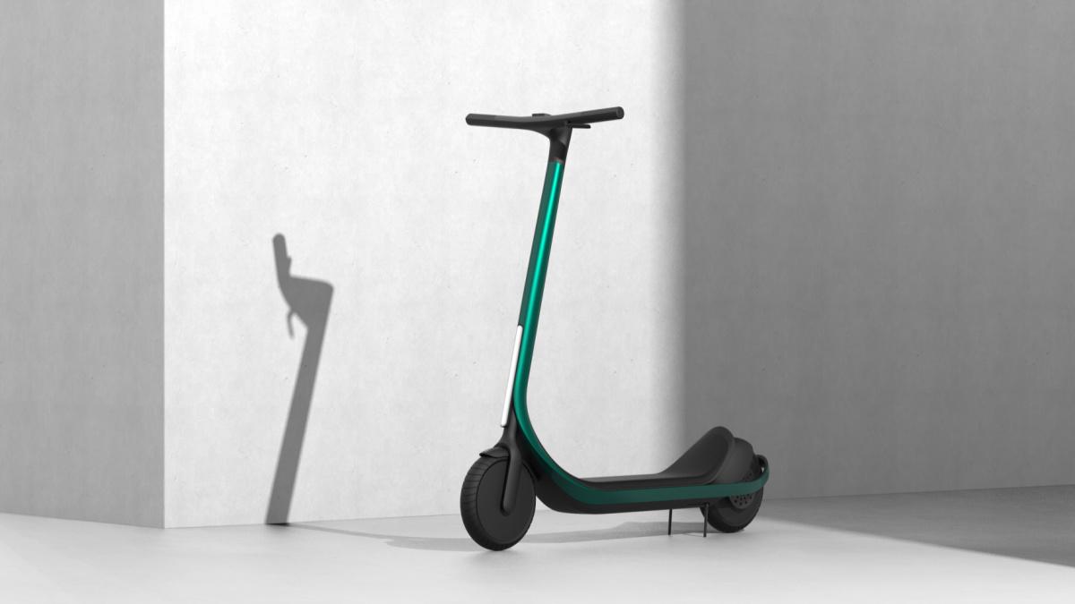 Cette trottinette électrique futuriste est imprimée en 3D et propose 112km d'autonomie