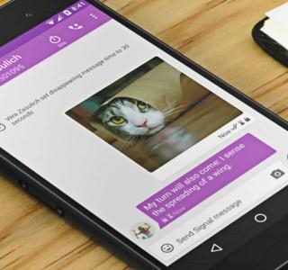 Signal devient meilleur que WhatsApp pour les transferts d'images