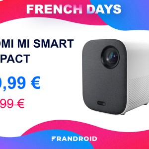 Le mini vidéoprojecteur de Xiaomi est en promo pour les French Days