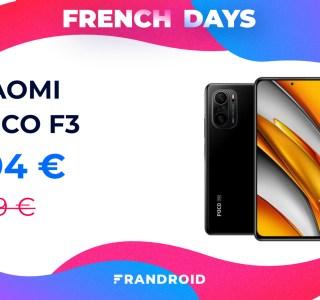 Un code promo fait baisser le prix du Xiaomi Poco F3 pour les French Days