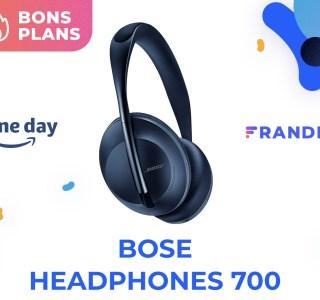 Le prix du Bose Headphones 700 est au plus bas pour le Prime Day sur Amazon