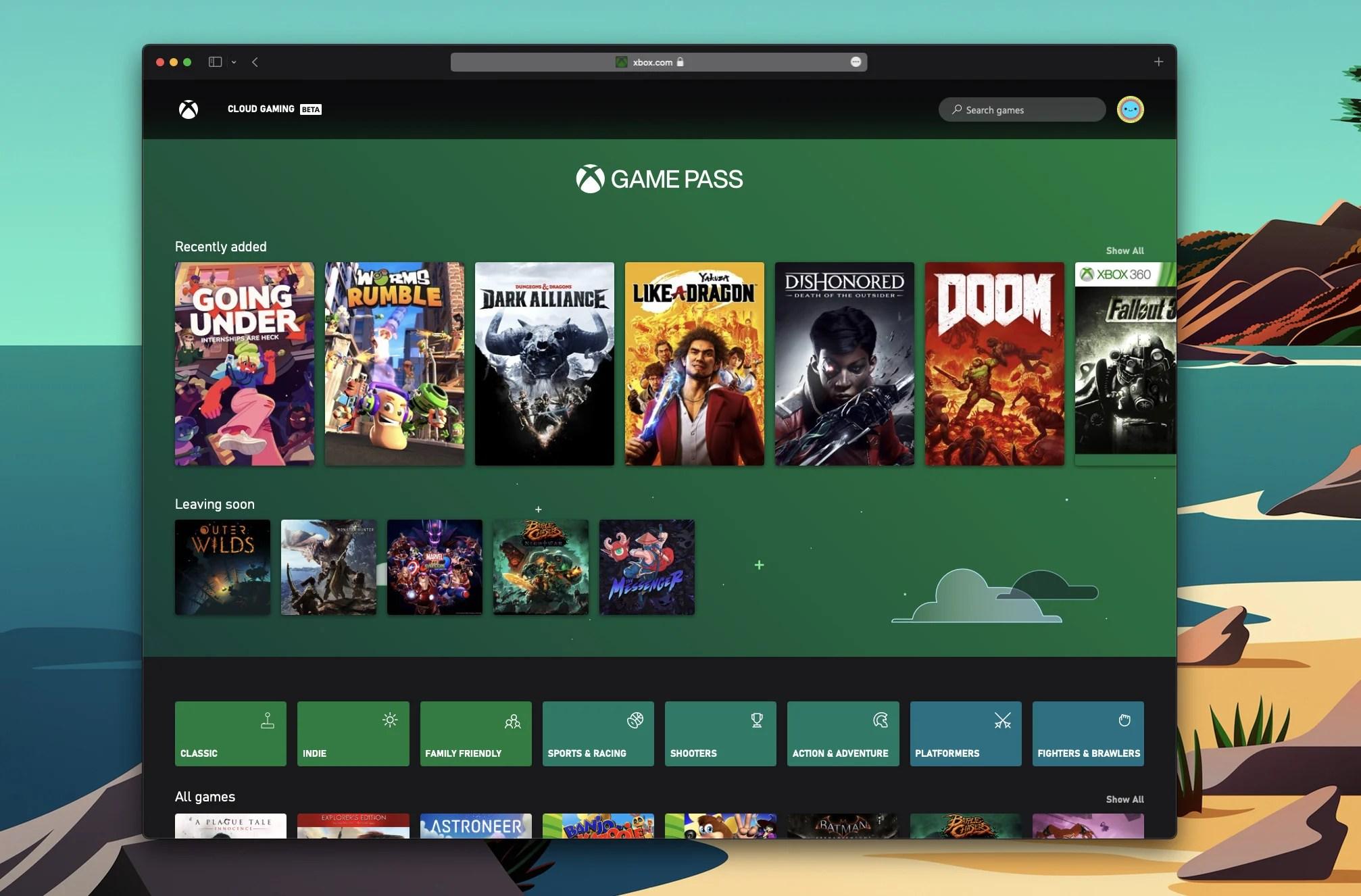 Le cloud gaming du Xbox Game Pass officiellement sur Mac, iPhone et iPad