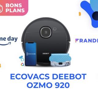 Ecovacs Deebot Ozmo 920 : aspirer et laver devient moins cher pendant le Prime Day