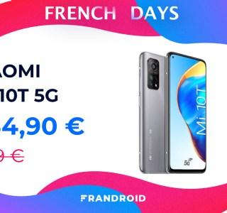 Le prix du Xiaomi Mi 10T est au plus bas grâce à un code promo spécial French Days