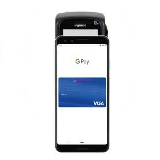 google pay - l'écran de verrouillage incite discrètement à utiliser Google Pay