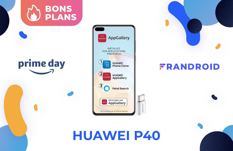 Excellent en photo, le Huawei P40 est à moitié prix pour le Prime Day