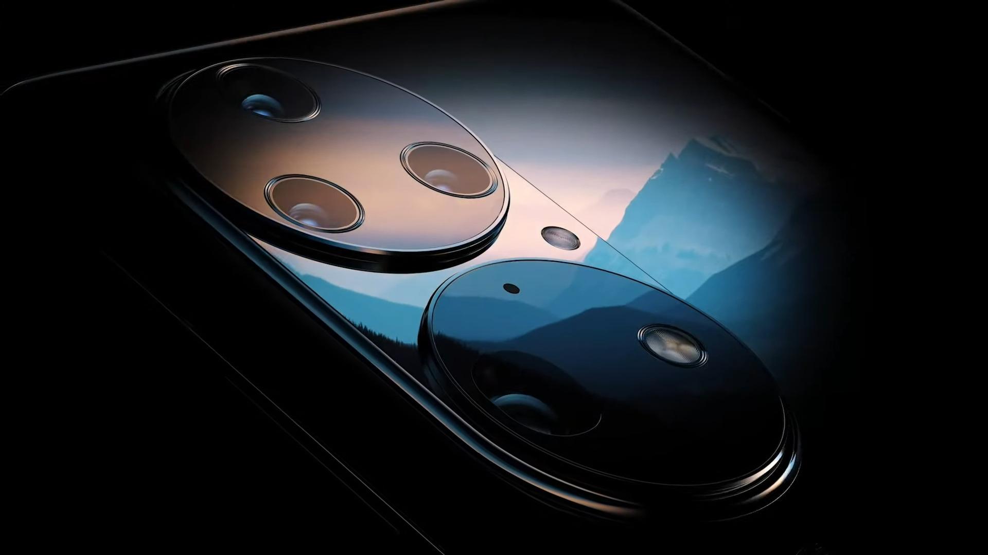 Huawei P50 et P50 Pro : la marque confirme l'étrange design du bloc photo