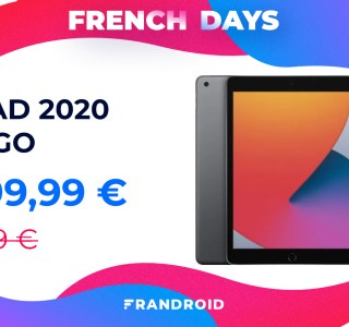 iPad 2020 : la tablette d'Apple est encore plus abordable pour les French Days