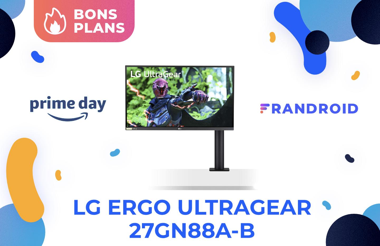 L'écran gaming LG Ergo UltraGear en QHD à 144 Hz est moins cher sur Amazon